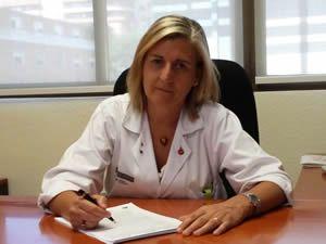 Dra. Cristina Arbona. (Foto: Sociedad Española de Hematología y Hemoterapia)