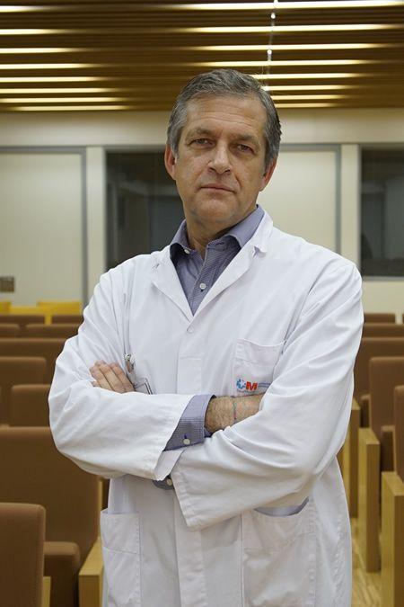 Dr. Felipe Navarro (Foto. Hospital Universitario General de Villalba)