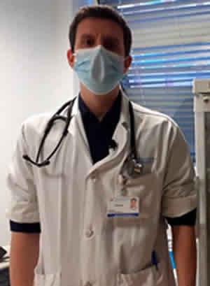 Dr. Manuel Gijón, pediatra responsable del ensayo (Foto Hospital 12 de Octubre)