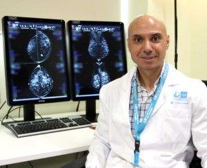 El coordinador quirúrgico del Área de Mama, el Dr. Lorenzo Rabadán. (Foto Grupo Ribera)