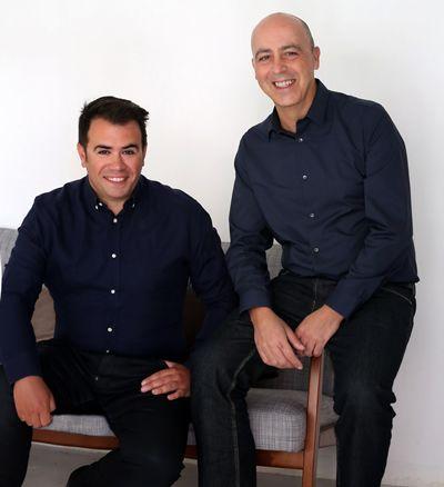 José Luis Robles y Rodrigo Menéndez, socios y fundadores de Isolée